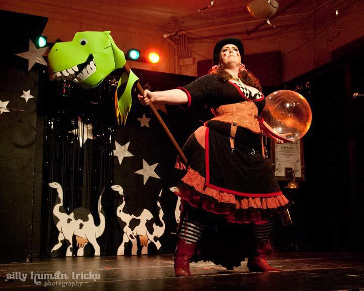 Wild West Space Opera, in Space, with Dinosaurs - Photo credit: Silly Human Tricks - Devon Roland