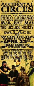 Accidental Circus @ the Palace of Wonders