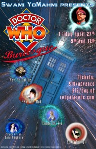 Dr. Who Burlesque Show