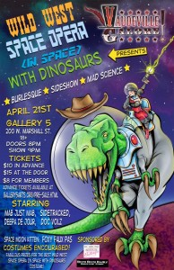 wild West Space Opera (In Space) With Dinosaurs