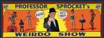weirdo Show Banner
