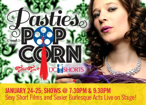 DC Shorts - Pasties & Popcorn